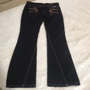 David Kahn Jeans - David Kahn, black jeans